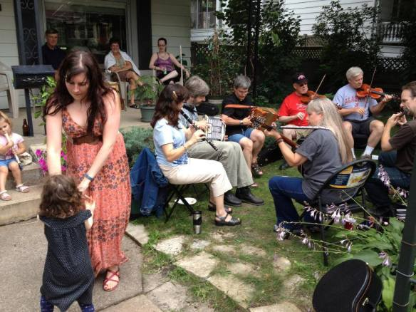 This spontaneous Celtic jam on Smith Avenue was an amazing addition to last year's Art on the Avenue.