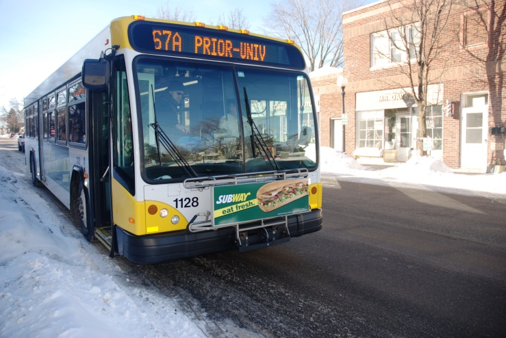 That's actually me getting on the 67 at Smith and Annapolis. (Photo by Drew Kerr / Metro Transit, used with permission)