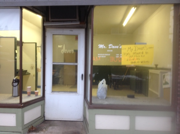 This former barber shop will soon become part of Amore Coffee.